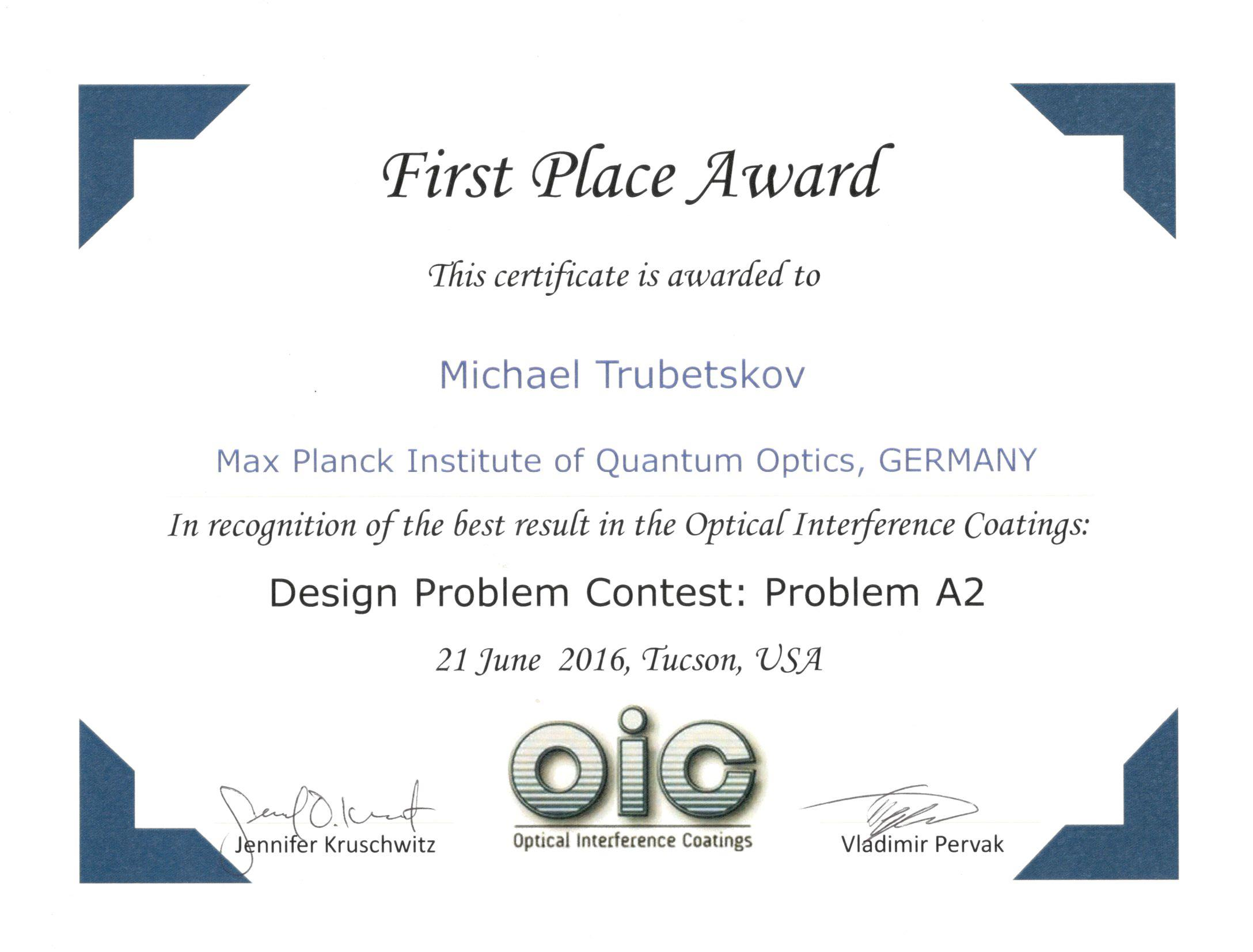 OIC design contest